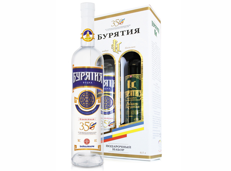 """""""Байкалфарм"""" выпустил к празднику новую водку """"Бурятия 350"""""""