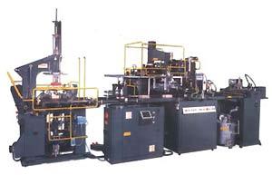 Автоматическая линия Emmeci МС 92 для производства картонных коробок.