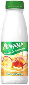 """Напиток  """"Актуаль """" персик-маракуйя, 330 г. Напиток  """"Актуаль..."""