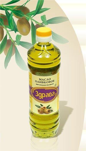 "Оливковое масло ""Здрава"""