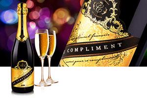 Шампанские и игристые вина Le compliment