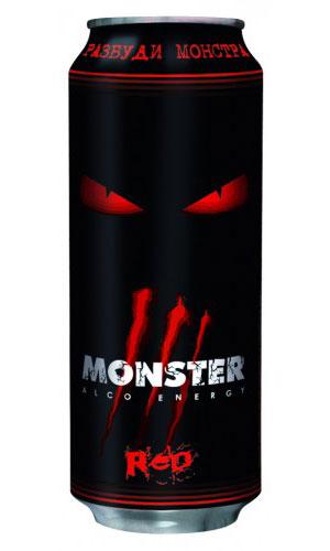 Слабоалкогольный напиток Monster.