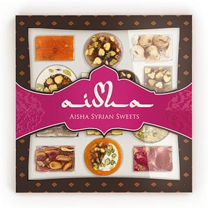 Восточные сладости Aisha