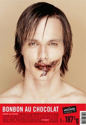 Концепт упаковки шоколадных конфет Bonbon au Chocolat