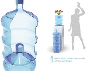 Усовершенствованная 19-литровая бутыль