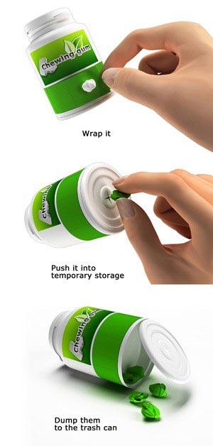Инновационная упаковка для жевательной резинки