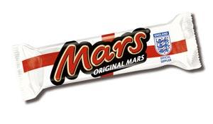 Mars в обновленной упаковке