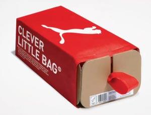Кеды Puma в инновационной упаковке