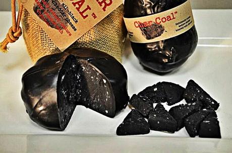 В британской деревне Лизинхэм изготовлен самый чёрный в мире сыр