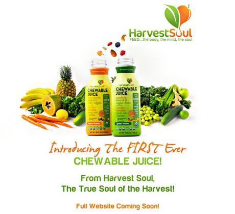 Американская компания Harvest Soul запустила на рынок новую линейку жевательных соков