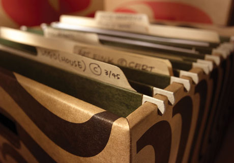 Коробка для хранения документов 125